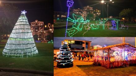 Cajamarca y Baños del Inca lucen llamativos adornos navideños