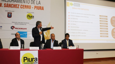 En marzo del 2017 iniciarán trabajos en la Av. Sánchez Cerrro en Piura