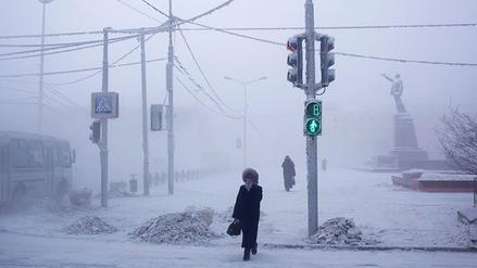Así es la vida en Oimiakón, el pueblo que soporta temperaturas de -50°C