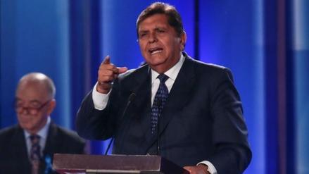 Alan García respaldó a PPK por no presentar cuestión de confianza