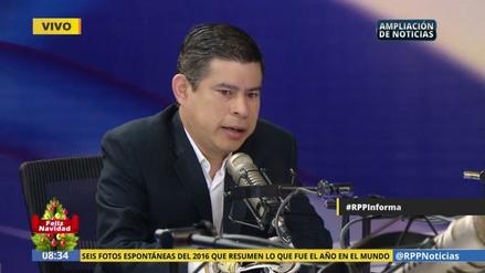 """Luis Galarreta: """"Queremos que al Gobierno de PPK le vaya bien"""""""