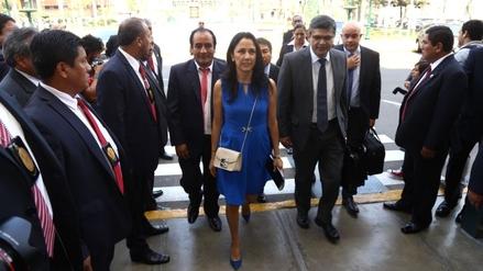 Nadine Heredia presentó un pedido de recusación contra Héctor Becerril