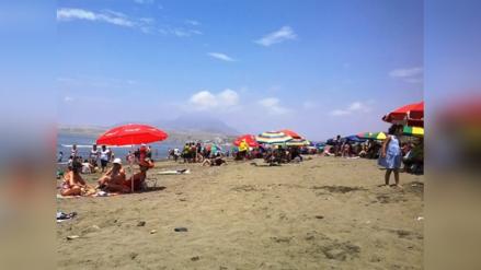 Ninguna playa de Trujillo está apta para bañistas