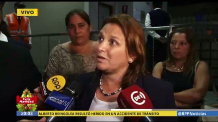 """Pérez Tello: """"Alberto Beingolea está bien pero no recuerda el accidente"""""""