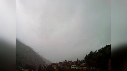 Tarma: población de Huasahuasi soporta torrencial lluvia - RPP Noticias