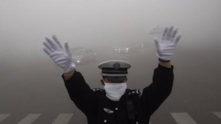China en alerta máxima por una niebla tóxica que cubrirá el país por 5 días