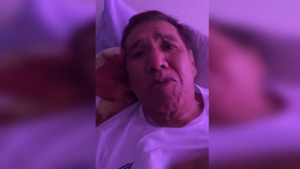 Facebook: Gordo Casaretto reaparece con la salud deteriorada para pedir ayudar