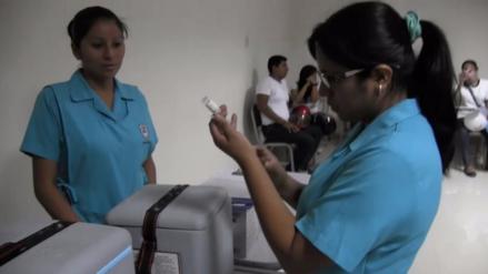 Piura ocupa el noveno puesto en cobertura de vacunación