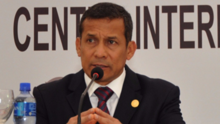Ratifican comparecencia restringida y el pago de 50,000 soles para Humala