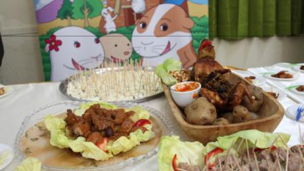 Huancayo: recomiendan consumir cuy y trucha para las cenas navideñas