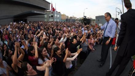 Jaime Saavedra se quebró durante despedida en el Ministerio de Educación