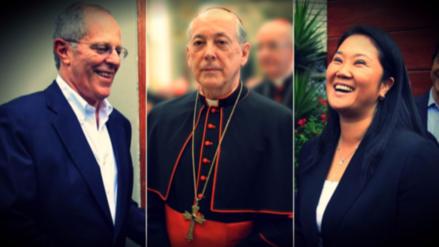 Pedro Pablo Kuczynski y Keiko Fujimori se reunirán con Juan Luis Cipriani