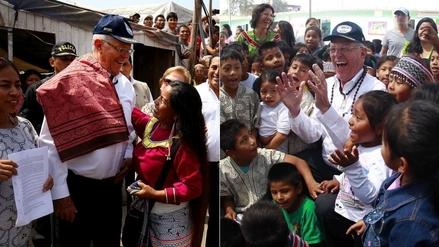 PPK visitó Cantagallo y acordó ayudar a la reconstrucción de la comunidad