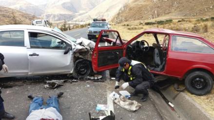 La Oroya: en lo que va del año reportaron 129 accidentes con 13 muertos