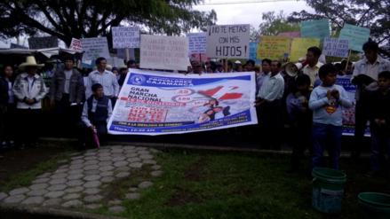 Padres de familia de Cajamarca rechazan la Ideología de Género