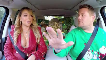 Mariah Carey y Lady Gaga se enfrentan en Carpool Karaoke de Navidad