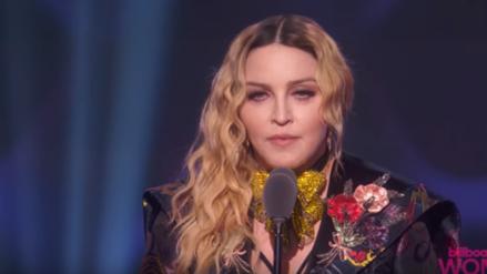 Madonna ofrece emotivo mensaje al recibir premio a 'La Mujer del Año'