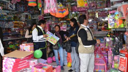 Huancayo: autoridades advierten riesgos de productos tóxicos
