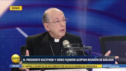 """Cipriani sobre reunión entre PPK y Fujimori: """"No busco protagonismo"""""""