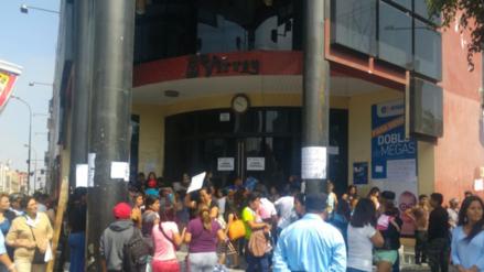 Clausuran centro comercial de Trujillo por mostrar deficiencias