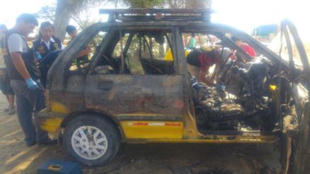 Piura: niño de dos años murió carbonizado dentro de auto