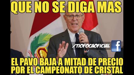 Sporting Cristal se proclamó campeón del Descentralizado 2016 y generó estos divertidos memes