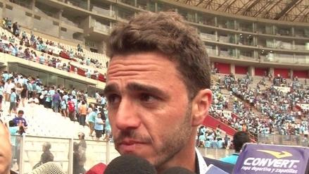 Mariano Soso al borde de las lágrimas: