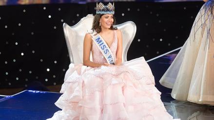 Miss Puerto Rico se coronó como la nueva Miss Mundo