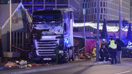 Fotos | Así quedó el camión que mató a 9 personas en Berlín