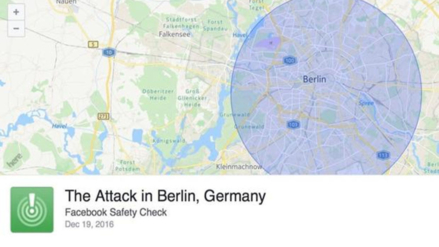 Facebook activa el botón 'Safety Check' tras la tragedia en Berlín