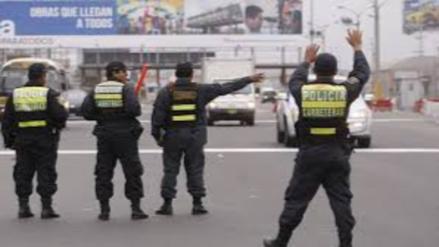 Intensificarán operativos en carreteras de Cajamarca