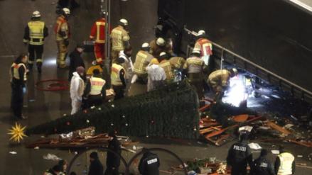 La Policía de Alemania investiga el ataque en Berlín como un atentado terrorista