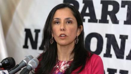 Sala deja al voto pedido de prisión preventiva contra Nadine Heredia