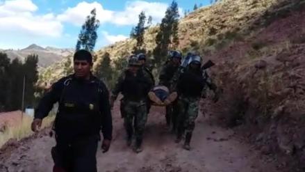 Cusco: familiares de policías heridos no viajaron a Lima