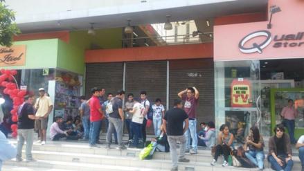 Trujillo: Defensa Civil evalúa si clausura centro comercial