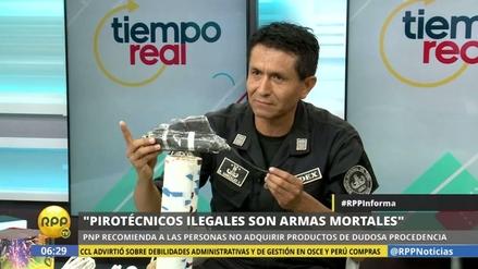 """UDEX: """"Los pirotécnicos ilegales son armas mortales"""""""