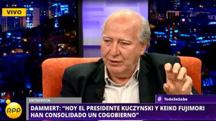 """Manuel Dammert: """"PPK y Keiko Fujimori han consolidado un cogobierno"""""""