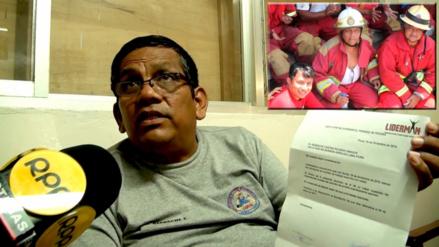 Piura: bombero despedido dice que no regresará a empresa Liderman