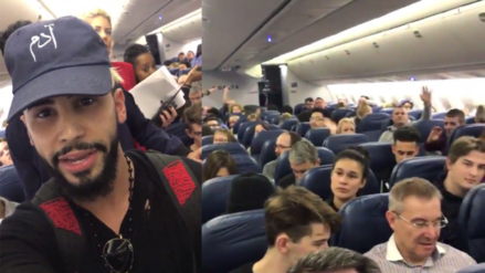 Facebook: youtuber denuncia que fue expulsado de un avión por hablar en árabe