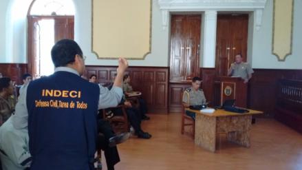 Forman comités de prevención para reforzar seguridad por Navidad en Chiclayo