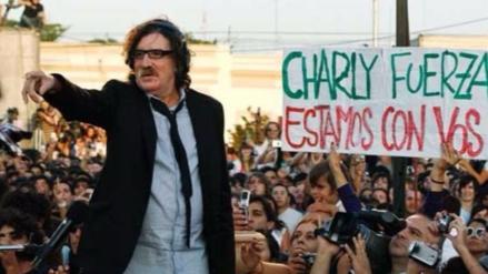 Charly García fue hospitalizado en Buenos Aires por fiebre y deshidratación