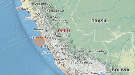 Un sismo de 4.2 grados remeció la región Lima esta madrugada