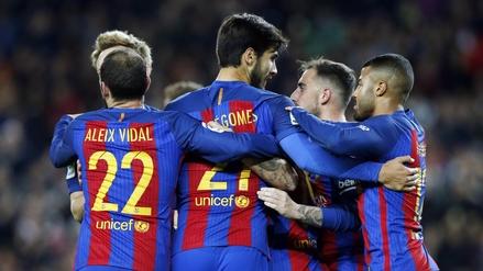 Barcelona apabulló 7-0 al Hércules por la Copa del Rey en su último partido del año