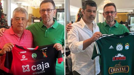 Cristal y Melgar le brindaron a Chapecoense sus camisetas conmemorativas