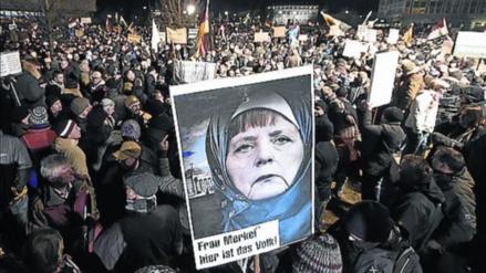 La ultraderecha alemana marcha hoy contra la llegada de refugiados musulmanes