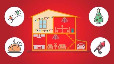 Gráfica   Sigue estos consejos para evitar accidentes en Navidad y Año Nuevo