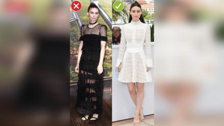 Las mujeres bajitas deben usar vestidos largos