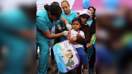 La Libertad: niños desprotegidos contra sarampión y rubeola