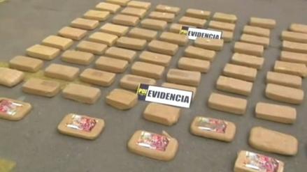 Incautan en Chile droga valorada en más de ocho millones de dólares