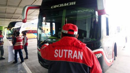 Sutran inicia plan 'Navidad Segura' en Terminal de Huancayo